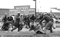 Bloody Sunday, 3/7/65 Six hundred marchers assembled in Selma on Sunday, March 7, and, led by SNCC and SCLC, crossed the Edmund Pettus Bridge over the Alabama River en route to Montgomery. Just short of the bridge, they found their way blocked by Alabama State troopers and local police who ordered them to turn around. When the protesters refused, the officers shot teargas and waded into the crowd, beating the nonviolent protesters with billy clubs and ultimately hospitalizing over fifty…