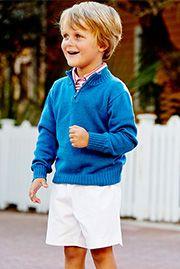 Knit Half Zip Sweater