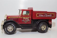 Nylint Coal and Gravel Co Red Diecast Metal Dump Truck Made in USA  #Nylint