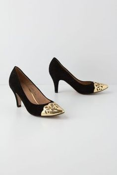 Teniso Heels in Anthropologie sale.  Sold out but still lovely