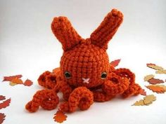 Downright creepy...and anyone who can make a knitted bunny creepy gets my vote