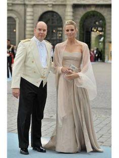 Albert II, Sovereign Prince of Monaco and Charlene Wittstock