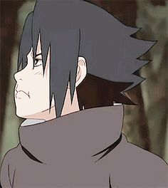 ": ""baby sasuke playing in the woods with his big brother """