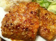 How to Cook Honey- Sesame Salmon Recipe - Snapguide Sesame Salmon Recipe, Salmon Recipes, Fish Recipes, Easy Delicious Recipes, Healthy Recipes, Yummy Yummy, Delish, Recipe Modification, Coconut Fish