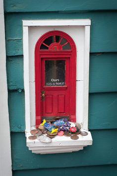 Michigan Ann Arbor, Fairy doors found