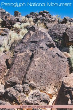 Located in the city limits of Albuquerque is Petroglyph National Monument. The Monument stretches 17 miles along the city's West Mesa. #NewMexico Duke City, Drinking Fountain, City Limits, Archaeological Site, Round Trip, Plan Your Trip, Hiking Trails, New Mexico, Travel Usa