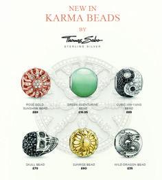 Thomas Sabo Karma Beads http://www.thbaker.co.uk/brands/thomas-sabo/thomas-sabo-karma-beads.htm