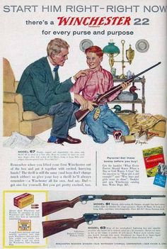 A small dump of old gun ads - Album on Imgur
