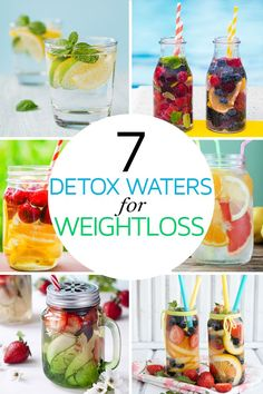 Looking to get a delicious kick start on your slim down diet for summer? Try a collection of our favorite Detox Waters to help promote Weight Loss! Fruit infused waters, these unique fat burning recipes are specially designed to help melt lbs away Infused Water Recipes, Fruit Infused Water, Infused Waters, Fruit Water, Fat Burning Water, Fat Burning Foods, Detox Recipes, Smoothie Recipes, Detox Foods