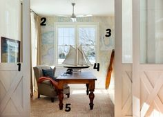 Genial 5 Ways To Get This Look: Nautical Office