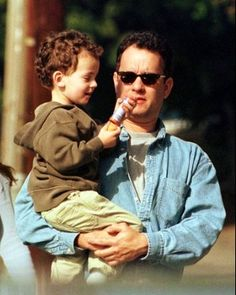 Tom and Colin Hanks                                                                                                                                                     More