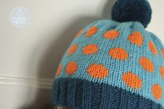 Cherry Heart: Dotty Spotty Hat...and the link to the free pattern