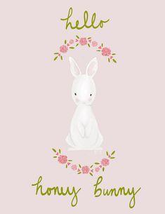 Freebie Honey Bunny Valentine Download on Mari Makes!