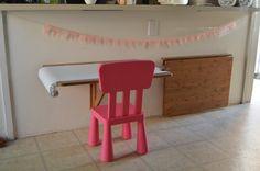 children's floating art table