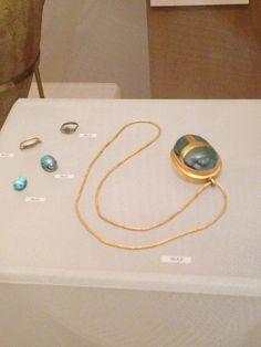 Scarab necklace, metropolitan museum
