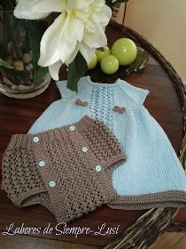 Labores de siempre: Cubre pañal en Punto Calado Crochet Baby Hat Patterns, Crochet Baby Hats, Knit Crochet, Knitting Patterns, Knitting Wool, Knitting For Kids, Baby Knitting, Reusable Tote Bags, Children