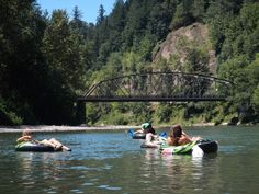 We did this when we were kids...inner tubes...Best River Floats Near Portland - Tubing in Oregon - Thrillist
