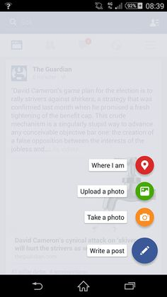 android floating action button - Google Search