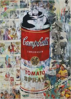 Hierbei handelt es sich um einen handsignierten und per Hand veredelten Pop Art Siebdruck (Mixed Media) des bekannten Urban Art Künstlers Mr. Brainwash.    Abmessungen: 76cm x 55cm  Material: Siebdruck und Mixed Media auf Papier