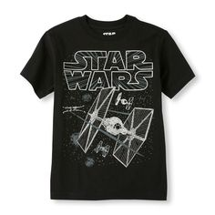 Short Sleeve Star Wars Graphic Tee   Awesome Jedi-approved styles for everyone! The force is strong with our fashion!