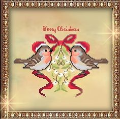 Passione Ricamo Journal: Xmas Ornament 2012 - cross stitch (click on title just under picture to get free chart)