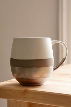 Luster Dipped Mug. Beautiful holiday gift