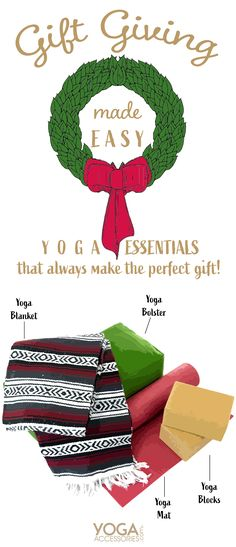 Get the yogi in your life what they really want! Yoga Bolster, Holiday Stress, Yoga Block, Yoga Bag, Yoga Gifts, Yoga Accessories, Best Yoga, Stress Free, Make It Simple