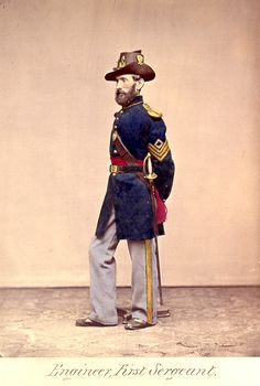 American Civil War Enlisted Uniforms - Engineer First Sargeant