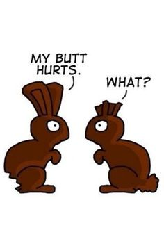 Funny Easter Joke My Butt Hurts 71