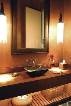 contemporary bathroom by Ana Williamson Architect