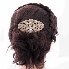 Vintage Bridal Flower Hair Comb Rhinestone Crystal Hair Jewelry for Wedding Hair Accessories hair clip pin Free shipping CO5186-in Hair Jewelry from Jewelry on Aliexpress.com | Alibaba Group