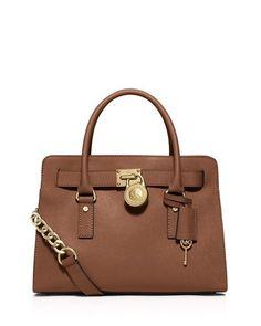 NWT $358 MICHAEL Michael Kors Hamilton Large East/West Satchel Luggage #MichaelKors #Satchel