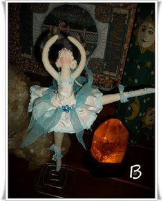♥Baú da Vovó♥Atheliê♥BeKa♥: bailarina  tilda  versão bethilda