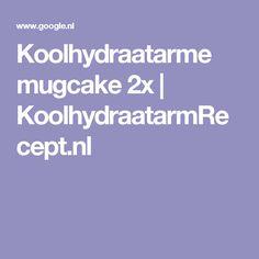 Koolhydraatarme mugcake 2x | KoolhydraatarmRecept.nl