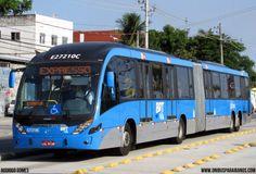 Caprichosa Reforça Frota do BRT Transcarioca com Super Articulado. Fonte : OCD Holding Texto e Fotos : Rodrigo Gomes A Caprich...
