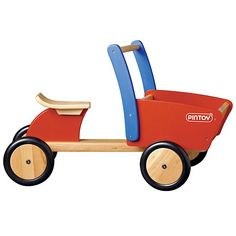 The Land of Nod | Wooden Front Cargo Truck in All Toys