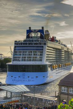 Make room. With 2,090 staterooms, Quantum of the Seas has more guest accommodations than the tallest hotel in the world.