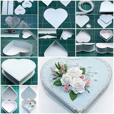 DIY Heart Shaped Gift Box