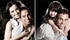 After His Wife's Death, This Man Recreated Their Old Photos With His Daughter. Keep Tissues Handy