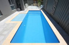 A small backyard doesn't mean you can't have a swimming pool. Small pools enable you to enjoy a pool even if you think your space is big enough.
