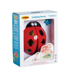 Baby Boys love bathtime so make it extra fun with this Ladybird Shape Sorter. A fab educational gift too!