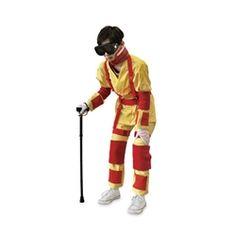 Physical Limitations Simulation Suit #PhysicalLimitationsSimulationSuit http://www.gtsimulators.com/Aging-Simulation-Suit-s/565.htm