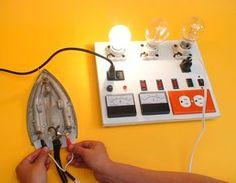 Construya un tablero de pruebas para su taller de electronica Electronics Projects, Diy Electronics, Handyman Projects, Led Projects, Circuit Projects, Electrical Engineering Books, Rental Home Decor, Electrical Circuit Diagram, Electronic Schematics
