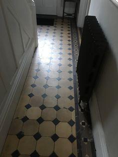 Edwardian Hallway, Hallway Flooring, Tile Floor, Tiles, Crafts, Home Decor, Room Tiles, Manualidades, Decoration Home