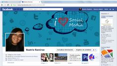 My new facebook cover (design by myself)