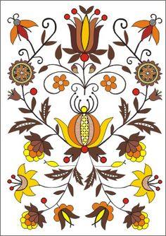 Bory Tucholskie - haft kaszubski borowiacki Crewel Embroidery, Machine Embroidery, Bird Cookies, Norwegian Rosemaling, Arte Popular, Painting Tips, Floral Flowers, Flower Designs, Folk Art