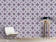 Design #Tapete Blumenzirkus