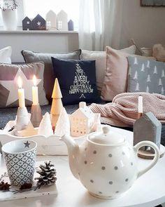 Die 56 besten Bilder von Weihnachten Wohnzimmer | Christmas living ...