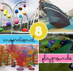 8 inspirational playgrounds | world's best playgrounds. WOW! My kid heart is still beating