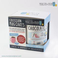 Taza Mug Cake de CHOCOLATE  - - Monster & Pixer |  La encontrarás en nuestra tienda online: www.monsterandpixer.com
